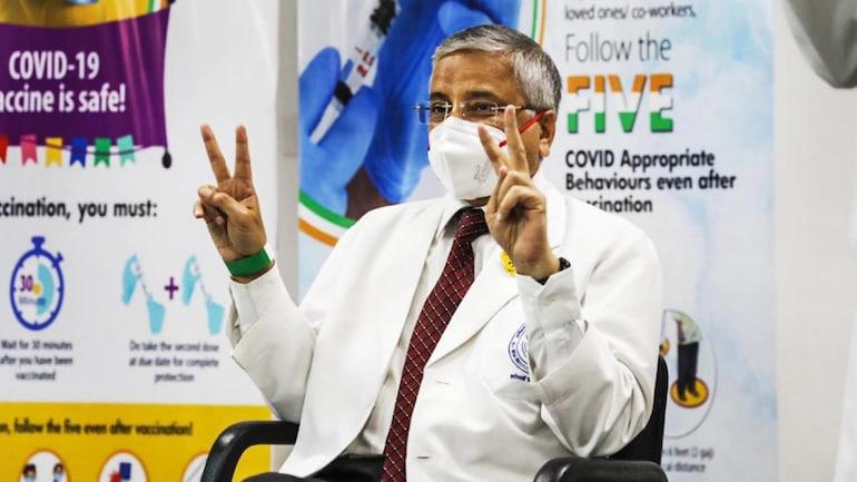 एम्स-दिल्ली के निदेशक डॉ। रणदीप गुलेरिया की फाइल फोटो
